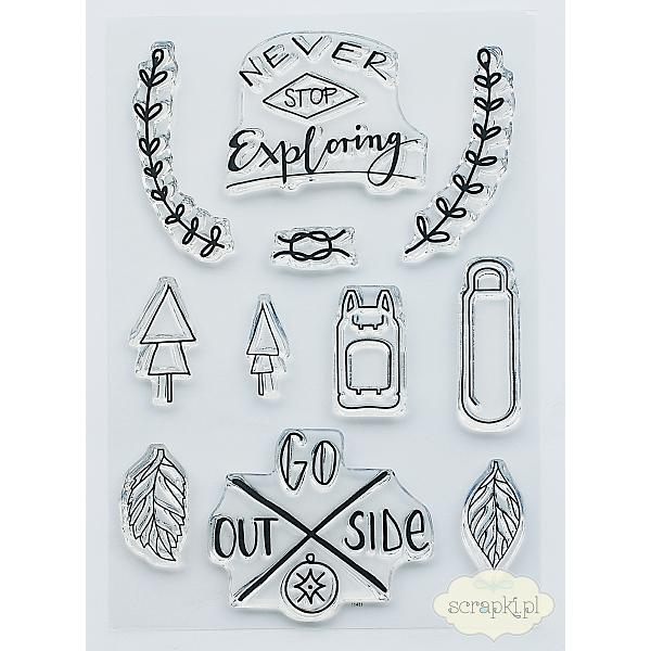 "Studio Forty Stemple ""Exploring\"" - stamp set #5"